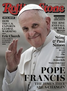 Pope Francis on Rolling Stone